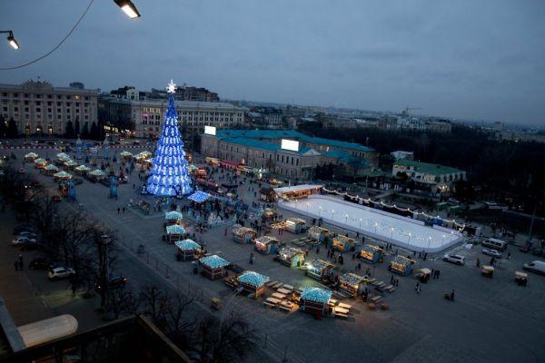 Зимняя депрессия – коньки в помощь: ТОП-7 лучшие катки Харькова