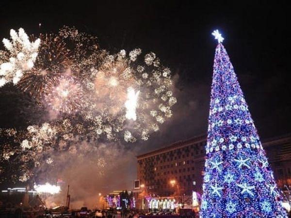 Новогодняя атмосфера в Харькове