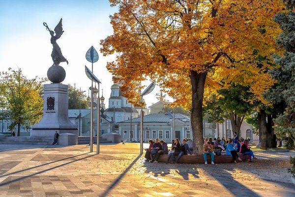 Осенние прогулки по Харькову