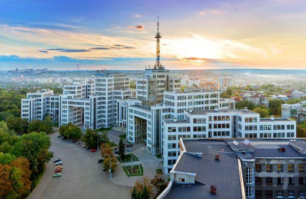 Самые красивые улицы Харькова