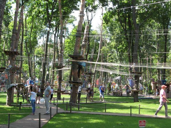 Площадки для активного отдыха