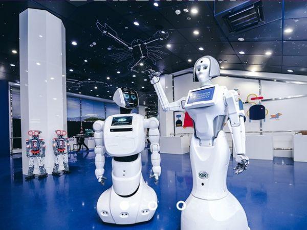 Интерактивная выставка роботов в Харькове
